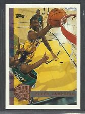 1997-98 Topps Basketball - Minted In Springfield - #74 - Elden Campbell - Lakers