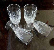 "*VINTAGE* Waterford Crystal COLLEEN (1953-) Set of 4 Champagne Flute 6"" 6oz"