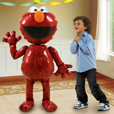 SESAME STREET ELMO JUMBO AIRWALKER HELIUM FOIL BALLOON PARTY SUPPLIES 137CM