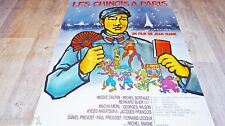 LES CHINOIS A PARIS ! j yanne affiche cinema animation bd dessin tito topin 1974