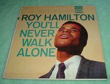 "ROY HAMILTON ""You'll Never Walk Alone""  Vintage 33Lp Record"
