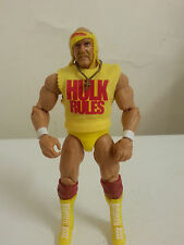WCW WWE WWF Custom Mattel Hulk Rules Hulk Hogan figure shirt accessory