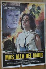 Used - Cartel cine MAS ALLA DEL AMOR Vintage Movie Film Poster - Usado
