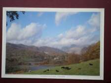 POSTCARD CUMBRIA ELTERWATER - 'LANGDALE LANDSCAPE - POETRY IN PICTURES