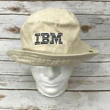VTG IBM COMPUTER Bucket Hat Cap Safari Boonie