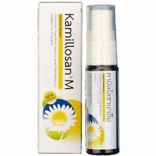 Kamillosan M Mouth Spray Anti Bacterial Inflammatory Tonsil Bad Breath 15 Ml