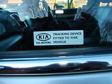 Kia fenêtre alarme stickers sportage sorento gps kx 3 kx KX2 KX3 kia sport r ceed