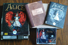 American McGee's Alice (PC: Windows, 2000) Big Box Bloody Knife Version A+ Discs