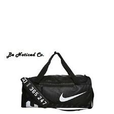 Nike Alpha Adapt Cross Body Duffel Bag Black Medium New Gym Travel Training New