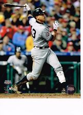 """Alex Rodriguez (Yankees) """"Swing 2009 World Series unsigned color 8x10 photo"""