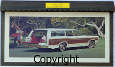 Showroom Promo Poster 1967 Ford Galaxie Country Squire Station Wagon 289/390/428