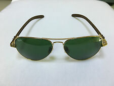 RAY BAN AVIATOR RB8307 112/3 CARBON FIBRE G15 TECH 58/14 AUTHENTIC MADE IN ITALY