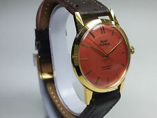 VINTAGE HMT SONA 17 JEWELS HAND-WINDING MOVEMENT COLOR ANALOG WRIST WATCH AC15