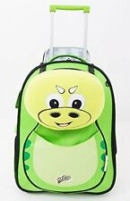 Kids children Soft Trolley Case Cuties Suitcase Hand Luggage with removable Pill