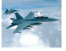 Boeing F18F Hornet VFA41 Navy Fighter Aircraft Photograph 8x10 Color