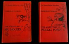 The Adventures of Mr. Mocker-Prickly Porker-Thorton Burgess Harrison Cady 1940's