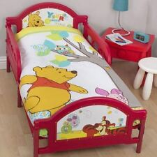 WINNIE THE POOH , FOREST  COT/ TODDLER DOONA  / QUILT DUVET COVER LICENSED NEW,
