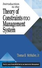 Introduction to the Theory of Constraints (TOC) Management System (The CRC Press