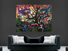 TRIPPY ABSTRACT POSTER PSYCHEDELIC FUNNY PRINT IMAGE GIANT LARGE