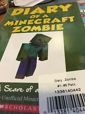 Diary of a Minecraft Zombie-NEW sealed complete set-books 1-11! 11 books in all!