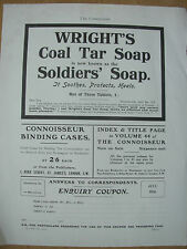 VINTAGE PRINT - WRIGHT'S COAL TAR SOAP ADVERT JULY 1916