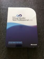 Microsoft Visual Studio test Professional 2010, inglés con IVA-factura