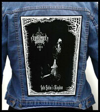 UNHUMAN DISEASE - Into Satan's Kingdom --- Huge Jacket Back Patch