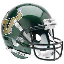 SOUTH FLORIDA BULLS Schutt AiR XP Full-Size REPLICA Football Helmet USF (GREEN)