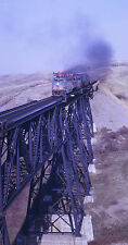 "CANADIAN PACIFIC RAILROAD C-LINER on BRIDGE 8""x10"" PHOTO from KODACHROME SLIDE"