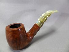 """Très noble """"Fratelli Croci"""" pipe-Italy-Marron/Nacre Couleurs-Neuf - 193"""