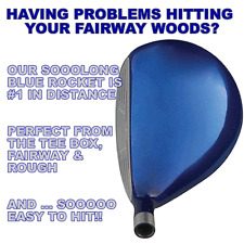#1CUSTOM SOOOLONG BLUE ROCKET FAIRWAY WOOD 3-4-5-7-9-11-13-15-17-19-21 PICK LOFT
