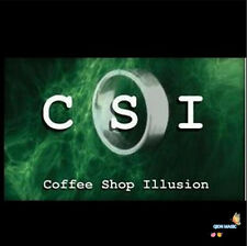 CSI - Coffee Shop Illusion (DVD + GIMMICK),Close Up Magic,Illusions,Street Trick