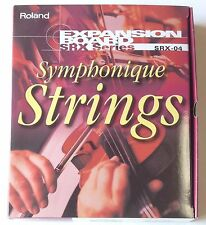 Roland SRX-04 Symphonique Strings.  For Roland X6 X7 X8 XR Xa S 5050 5080 others