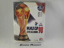 WORLD CUP 98 COPPA DEL MONDO 1998 FIFA - PC - BIG BOX ITALIANO - NUOVO SIGILLATO