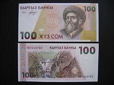 KYRGYZSTAN  100 Som 1994  (P12)  UNC