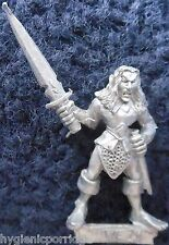 1989 Wood Elf MM80 WE 25 Marauder Elven Army Silvan Warhammer Citadel AD&D Metal
