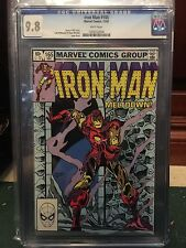 IRON MAN #165 CGC 9.8 NM/MT WP (ID 5185)