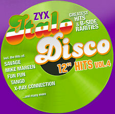 "CD ZYX Italo Disco 12"" Hits Vol.4 von Various Artists 2CDs"