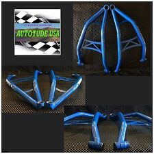 HD ARCHED CHROMOLY LOWER A-ARMS / CONTROL ARMS, 2016 RZR 4 XP 1000, VOODOO BLUE