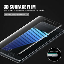 3D Full Cover Curved Samsung Galaxy Note 7 screen protector Tempered Glass