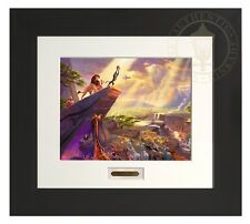 The Lion King - Thomas Kinkade Modern Home Collection Espresso Frame