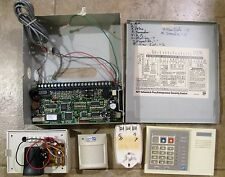 ALARM SYSTEM ADT PANEL,KEYPAD,SOUNDER,MOTION SENSOR & TRANSFORMER USED