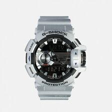 *NEW*CASIO MENS G SHOCK SILVER BLUETOOTH MIX MUSIC WATCH XL GBA-400-8ADR RRP£199