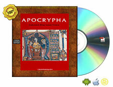 Apocrypha, King James Version Bible Book On CD