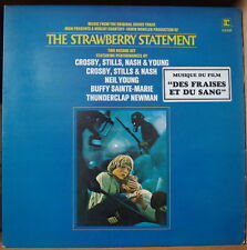 THE STRAWBERRY STATEMENT OST SOUNDRACK DOUBLE FRENCH LP REPRISE 1971