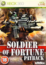 XBOX 360 - SOLDIER OF FORTUNE - PAYBACK - ACTIVISION 2007
