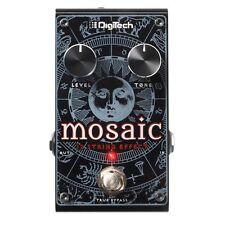 Digitech Mosaic Polyphonic 12-String Pitch Shift True Bypass Guitar Effect Pedal