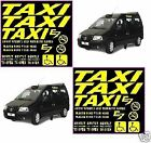 E7 Taxi Body Stickers,( COMPLETE SET )