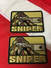 SNIPER morale Patch novelty Rothco survival tactical disaster army UGET2  #712