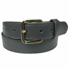 New Genuine Full Grain Mens Leather Belt Made in the UK 1.25 inches